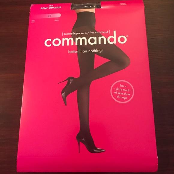 4894158b04fea Commando Accessories | Semi Opaque Tights L | Poshmark